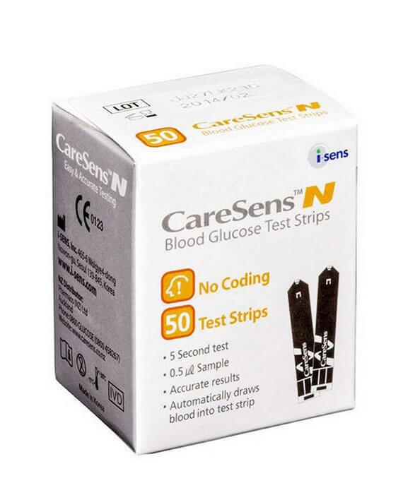 CareSens N Teststrips (50 stuks)