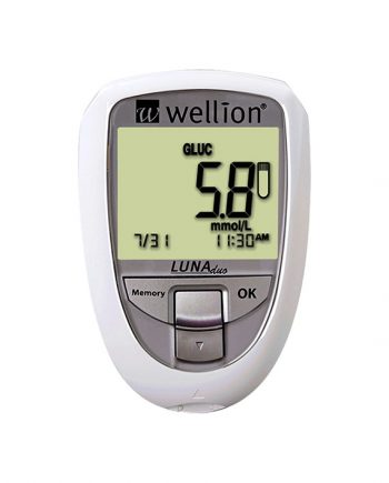 Wellion Luna Duo Wit Glucosemeter