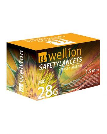 Wellion Safety Lancetten 200 stuks