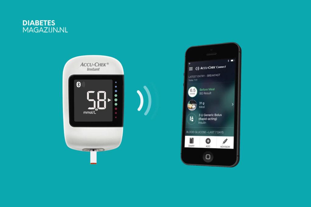 Glucosemeters met Bluetooth