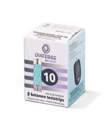 Diatesse ß - ketonen teststrips (10 stuks)