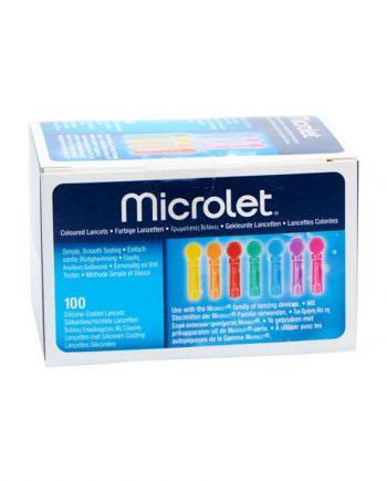Microlet Lancetten 100 stuks