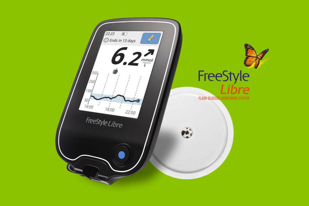 Met een sensor glucose meten