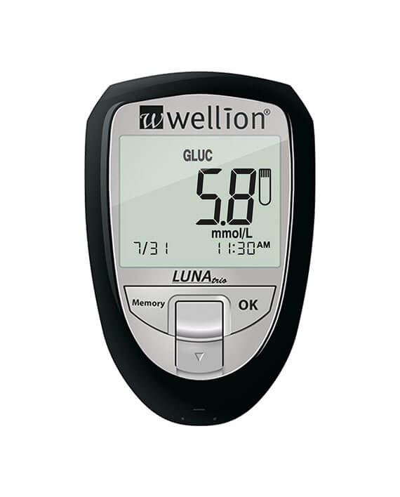Wellion Luna Trio glucosemeter