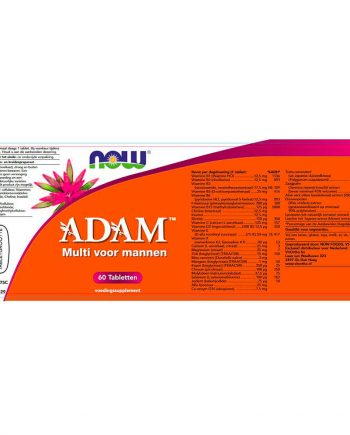 NOW ADAM Multivitamine voor Mannen (60 tabs)