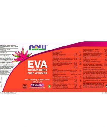 NOW EVA Multivitamine voor Vrouwen (90 tabs)