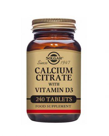 Solgar Calcium Citrate met Vitamine D3
