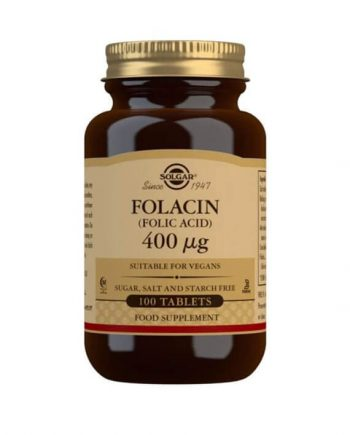 Solgar Foliumzuur 400 µg 100 tabletten