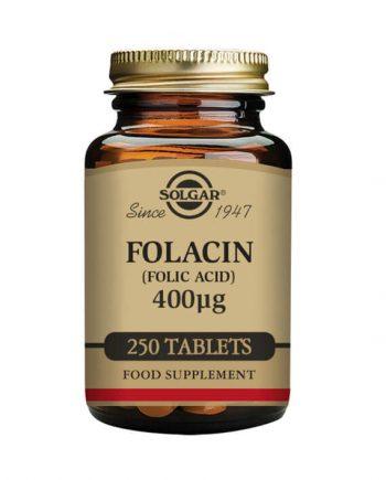 Solgar Foliumzuur 400 µg 250 tabletten