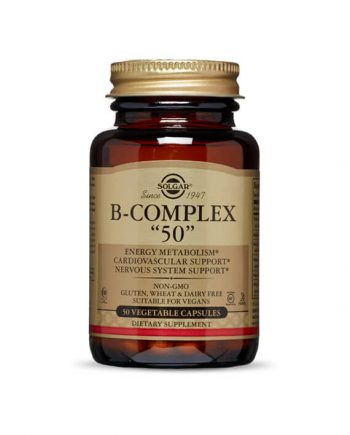Solgar Vitamine B-complex 50 capsules