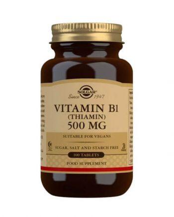 Solgar Vitamine B1 500 mg (100 tabletten)