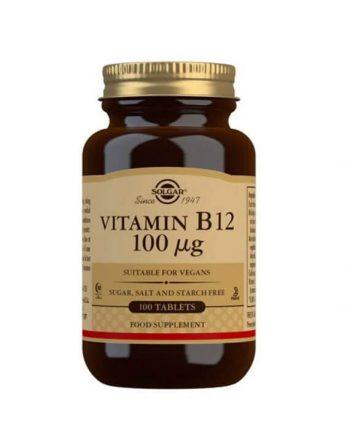 Solgar Vitamine B12 100 µg (100 capsules)