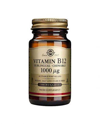 Solgar Vitamine B12 1000 µg 100 nuggets