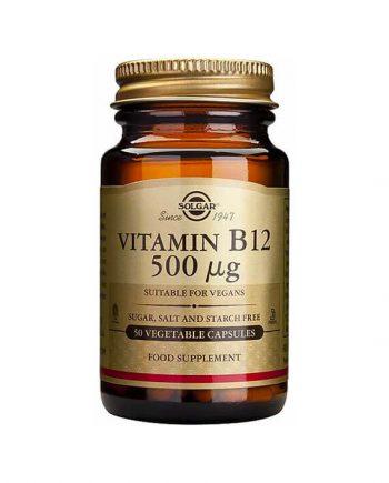 Solgar Vitamine B12 500 µg (50 capsules)