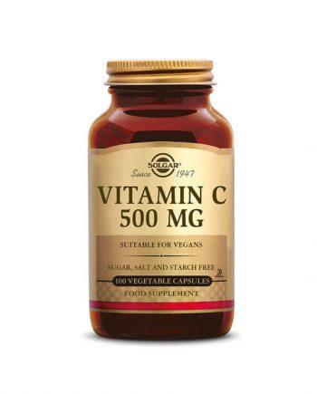 Solgar Vitamine C 500 mg (100 capsules)