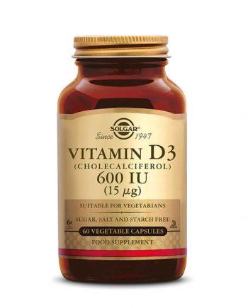 Solgar Vitamine D3 600 IU 15 µg