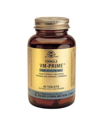 Solgar VM-Prime voor Volwassenen 50+ (60 tabletten)