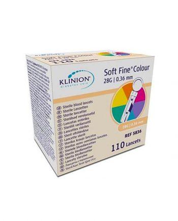 Klinion Soft Fine Lancetten (110 stuks)